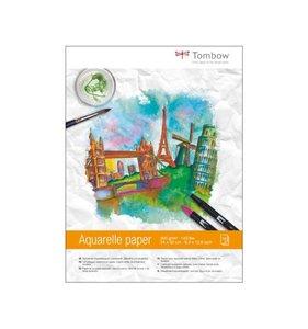 Tombow block papel acuarela 24x32 cm
