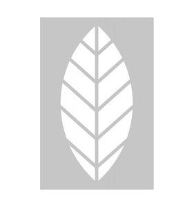 Máscara 10x15 cm Leaf