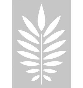 Máscara 10x15 cm Branch