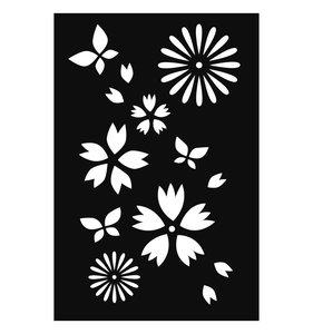 Máscara Japan Flores