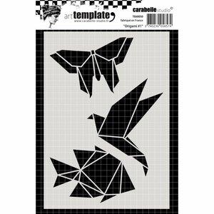 Máscara Carabelle A6 Origami