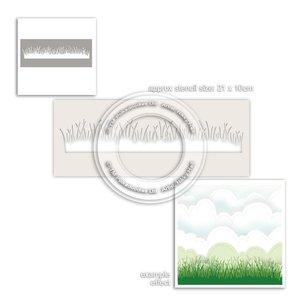 Máscara PolkaDoodles 10x21 cm Grass Lawn