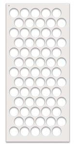 Máscara PolkaDoodles 10x20 cm Large Polka Dot