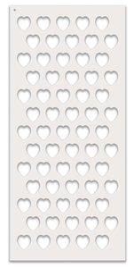 Máscara PolkaDoodles 10x20 cm Love Heart 1