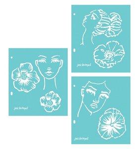 Set de máscaras Jane Davenport Artomology
