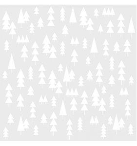 """Máscara Trees 6x6"""" Happy Trails"""