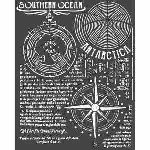 Máscara Stampería 20x25 cm Artic Antartic Southern Ocean