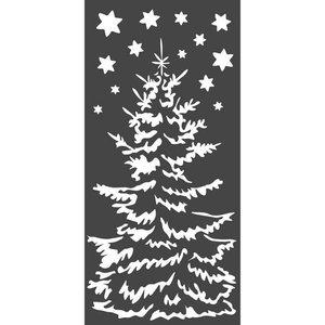 Máscara Stampería 12x25 cm Christmas Tree
