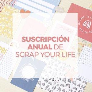 SUSCRIPCIÓN ANUAL x11 Meses SCRAP YOUR LIFE