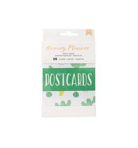 Tarjetas Postcards Memory Planner 2.0