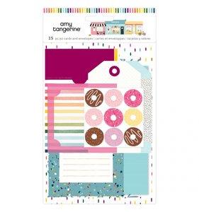 Tarjetas, tags, sobres y bolsillos para journaling Slice of Life