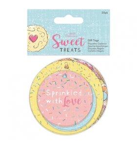 Etiquetas con cordón Sweet Treats