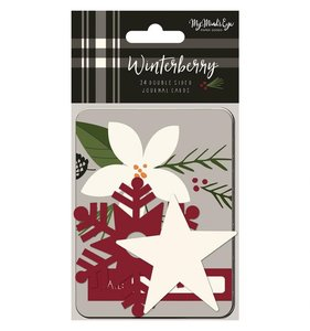 "Tarjetas 3x4"" Winterberry"