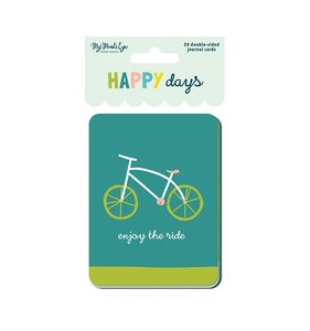 "Tarjetas 3x4"" Happy Days"