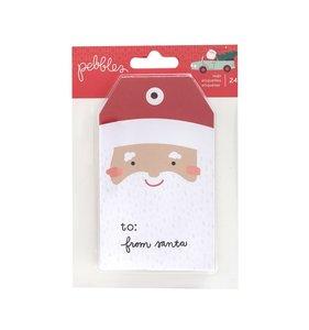 Bloc de etiquetas Merry Little Christmas