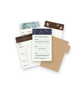 Mini Tarjetas para Journaling Typecast