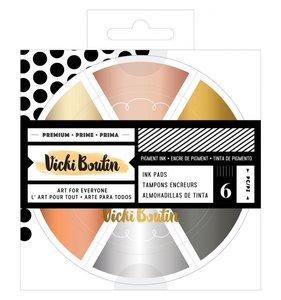 Rueda de tintas Set Metallics Vicki Boutin