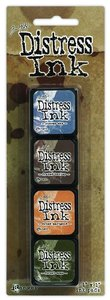 Mini Distress Pad Kit 9