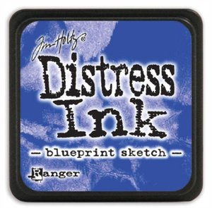Tinta Ranger Distress Blueprint Sketch