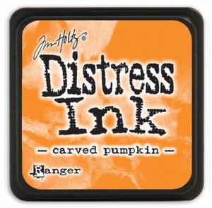 Tinta Ranger Distress Carved Pumpkin