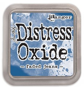 Tinta Ranger Distress Oxide Faded Jeans