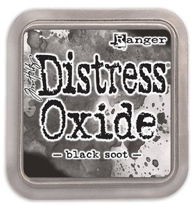 Tinta Ranger Distress Oxide Black Soot