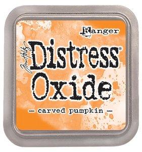Tinta Ranger Distress Oxide Carved Pumpkin