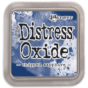 Tinta Ranger Distress Oxide Chipped Sapphire