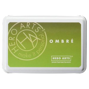 Tinta Ombre Lime To Forever Green