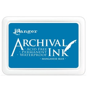 Tinta Ranger Archival Ink Manganese Blue