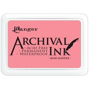 Tinta Ranger Archival Ink Rose Madder