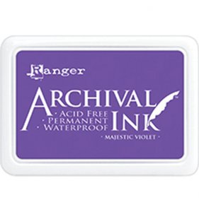 Tinta Ranger Archival Ink Majestic Violet