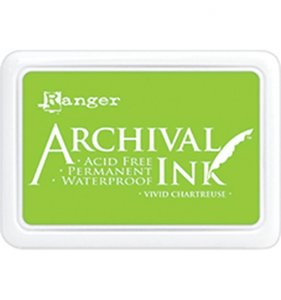 Tinta Ranger Archival Ink Vivid Chartreuse