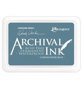 Tinta Ranger Archival Ink Cornflower Blue