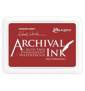 Tinta Ranger Archival Ink Red Geraniun