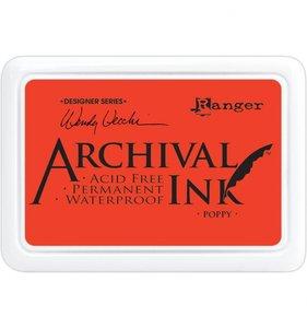 Tinta Ranger Archival Ink Poppy