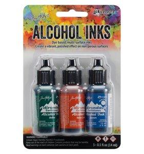 Alcohol Ink Set Rustic Lodge
