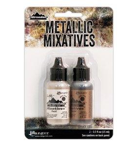 Alcohol Ink Metallic Set Pearl & Copper