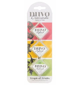 Set tintas NUVO Diamonds Tropical Fruits