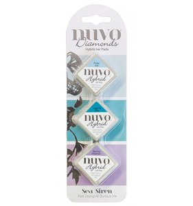 Set tintas NUVO Diamonds Sea Siren