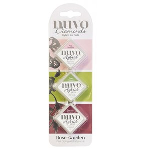 Set tintas NUVO Diamonds Rose Garden
