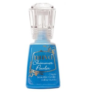 Nuvo Shimmer Powder Blue Blitz