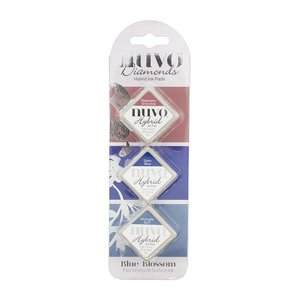 Set tintas NUVO Diamond Blue Blossom
