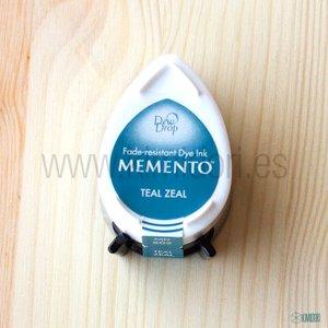 Tinta pequeña Memento Teal  Zeal