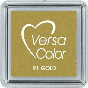 Tinta Versacolor Metallic Gold