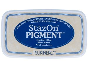 Tinta Stazon Pigment Multisuperficies Mariner Blue