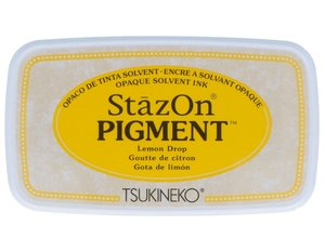 Tinta Stazon Pigment Multisuperficies Lemon Drop