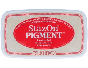 Tinta Stazon Pigment Multisuperficies Passion Red