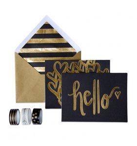 Set de tarjetas Hello Trend