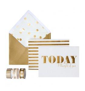 Set de tarjetas Today Trend